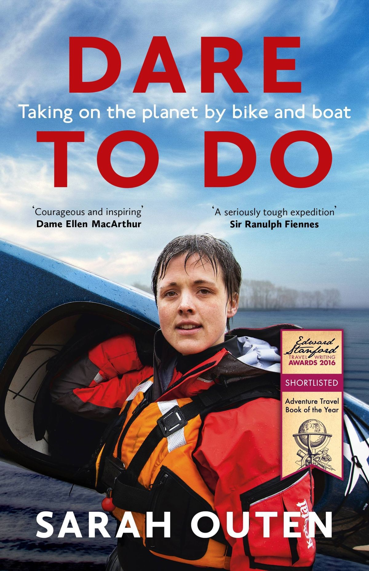 Sarah Outen Book Cover - Dare to Do